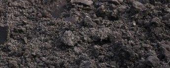 Grond en zand afval