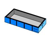 afvalcontainer huren 12 m3 bouw en sloop_