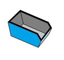 afvalcontainer huren 10 m3 dak afval
