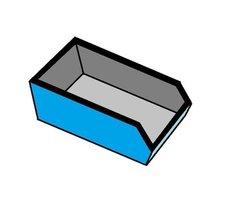 afvalcontainer huren 6 m3 dak afval