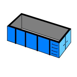 afvalcontainer huren 20 m3 bouw en sloop
