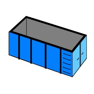 afvalcontainer huren 40 m3 bouw en sloop
